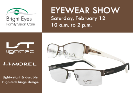 Litec Trunk Show at Bright Eyes